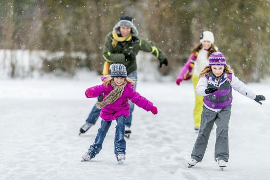 Eislaufen im Ski- & Winterurlaub in Obertauern, Salzburger Land