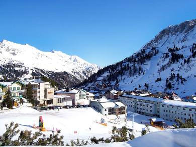 Blick vom Haus Schmeisser in Obertauern, Ferienwohnungen in Obertauern