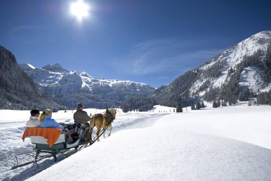 Pferdeschlittenfahrten im Ski- & Winterurlaub in Obertauern, Salzburger Land