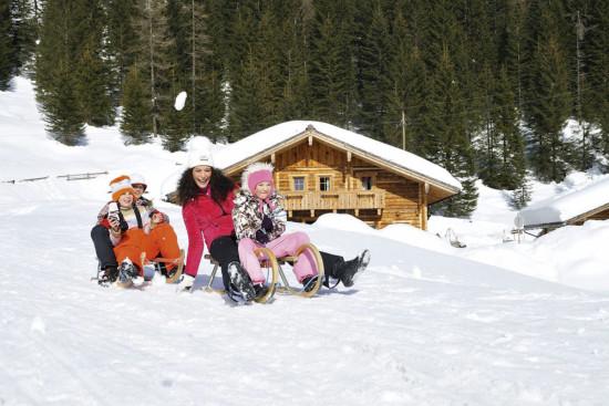 Rodeln im Ski- & Winterurlaub in Obertauern, Salzburger Land